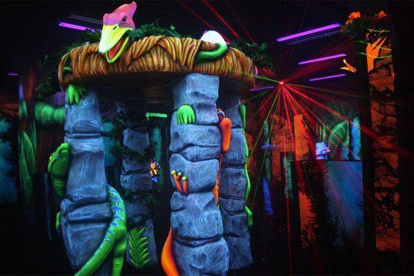 Thrill zone Dubai - the only laser park in Dubai!