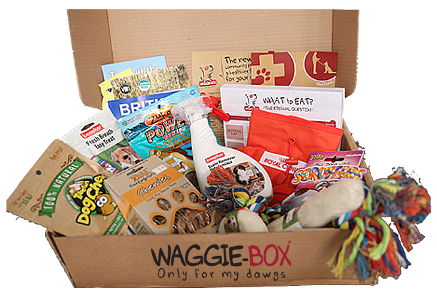 See inside the waggie box delivery in Dubai