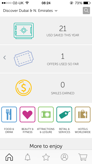 smiles-balance - the ENTERTAINER App