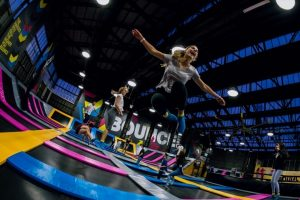 Jump on the trampoline park craze at Bounce