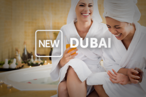 image of new offers in Dubai show ladies laughing