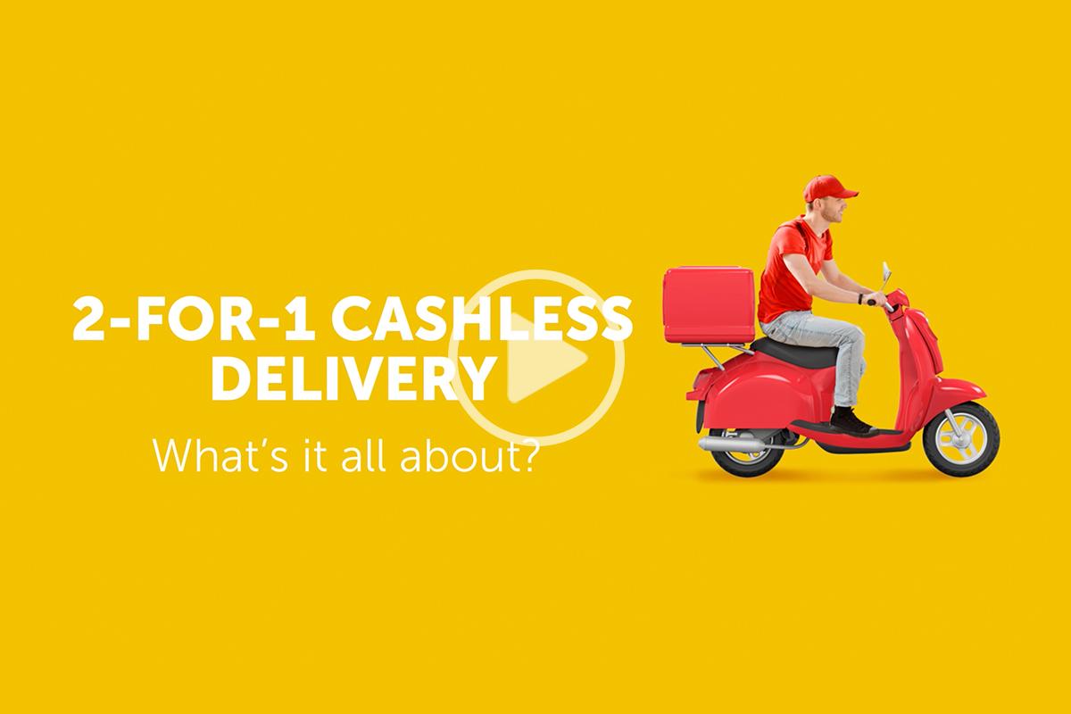 Delivery Dubai – Cashless Payment