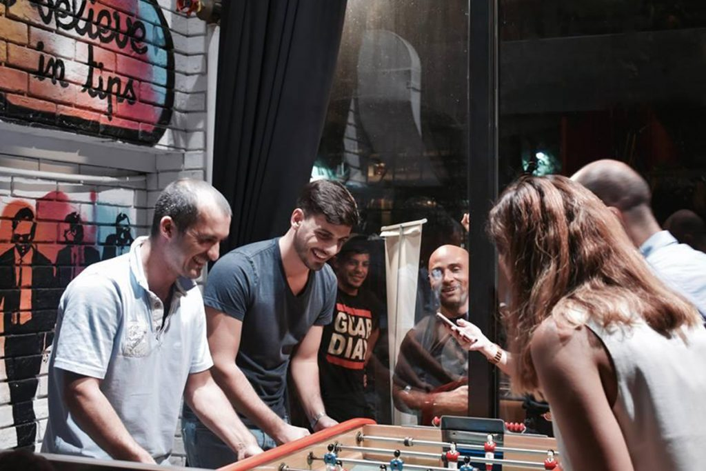The ENTERTAINER Hong Kong Foosball Tournament at La Cantoche
