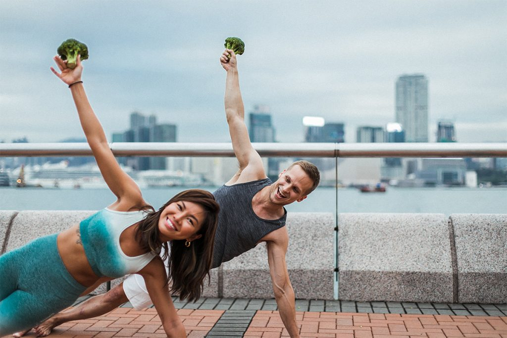 Find a Sweat Buddy and hit your 2019 health goals with Broc & Bells and the ENTERTAINER App