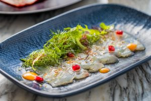Popinjays Wild Sea Bream Ceviche - ENTERTAINER HK 2020