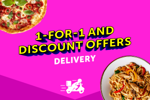 Delivery Is Here And We've Got Offers For You!