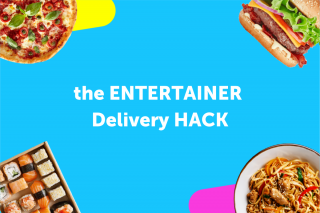the ENTERTAINER Delivery HACK